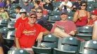 Cards Fans at Coors Field