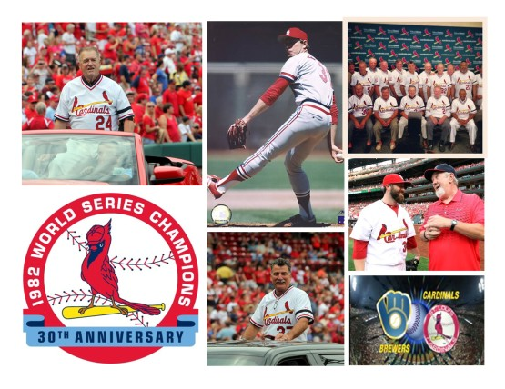 1982 Cards Reunion Weekend at Busch Stadium