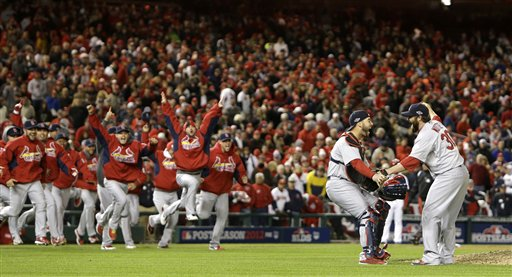 Cardinals comeback to win Game 5 clincher against the Nationals!